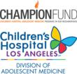 The CHAMPION Fund is the 501(c)3 non-profit arm of the Division of Adolescent Medicine at CHLA.